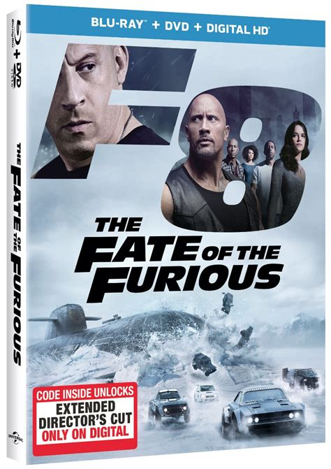 the fate of the furious extended version digital release the fate of the furious racing to digital hd 6 27 and