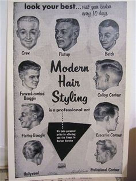 vintage haircut chart 1000 images about retro on pinterest retro hair