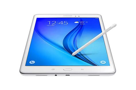 tablette tactile samsung galaxy tab a 9 7 quot 16 go blanche s pen 4170440 darty
