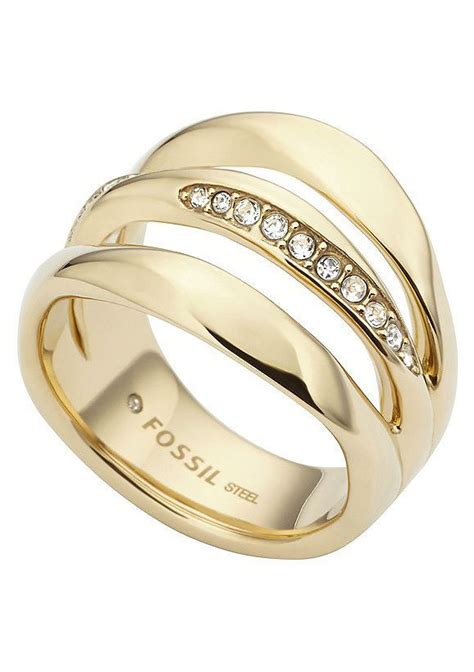 Fossil Ring Gold by Fossil Ringe Gold Modischer 2018