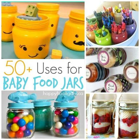 baby food jar crafts projects 50 fantastic ways to re use baby food jars happy hooligans