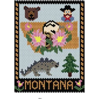 beaded tapestry patterns montana state mini tapestry bead patterns