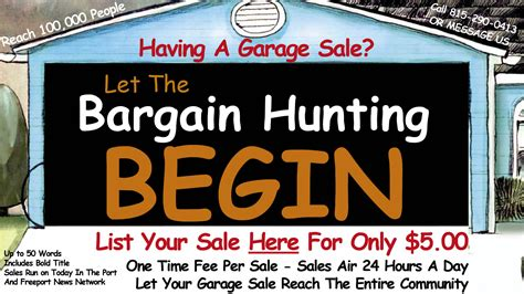 Garage Sale In Area by Area Garage Sales Freeport Il News Network