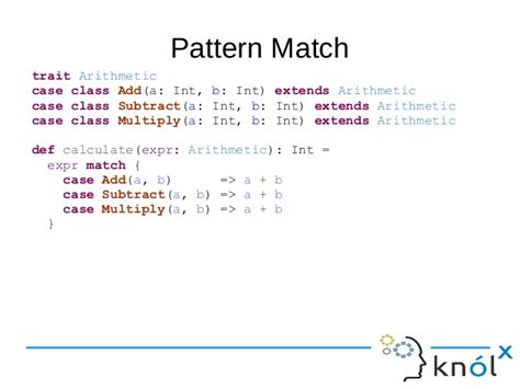 pattern matching scala exle effective way to code in scala