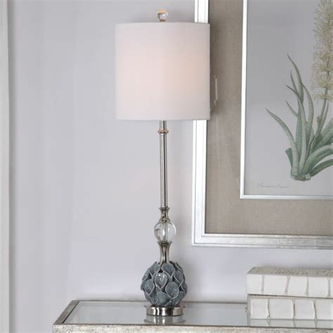 french country ceramic buffet table lamp living room