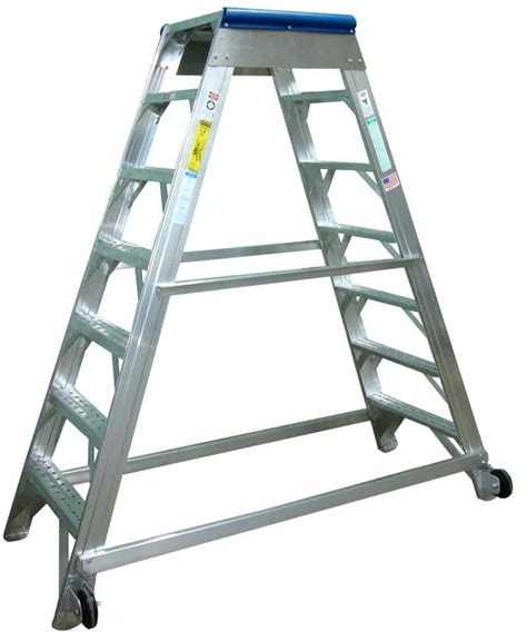 aircraft maintenance step ladders aircraft maintenance ladders metallic ladder corporation