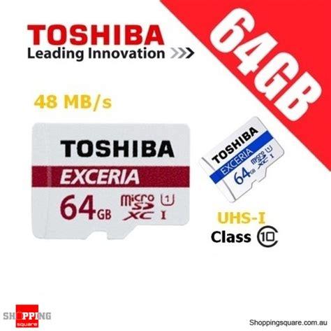 Microsd Toshiba 64gb toshiba exceria 64gb microsd class 10 uhs i 48mb s micro sd tf memory card shopping