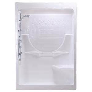 maax montego 60 i 3 right seat white acrylic shower