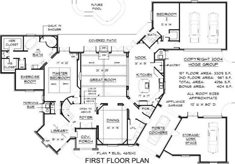 free mansion floor plans home ideas