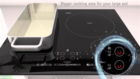 induction hob yuppiechef 6th sense induction hob flexicook technology by whirlpool