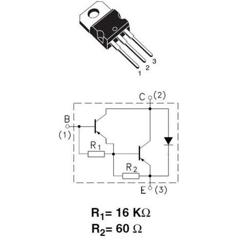 transistor darlington tip127 transistor darlington encapsulado 28 images transistor mpsa13 transistor mpsa13 transistor