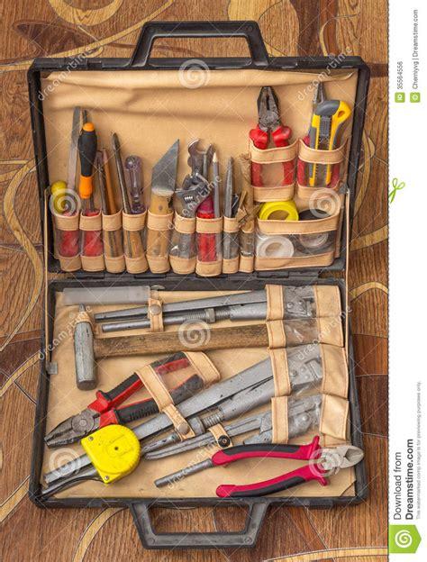 Plumbing Set set of plumbing tools royalty free stock image image