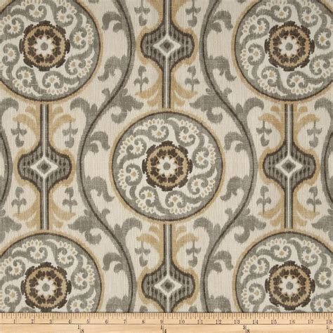 Gray And Brown Valance Magnolia Home Fashions Oh Suzanni Metal Discount