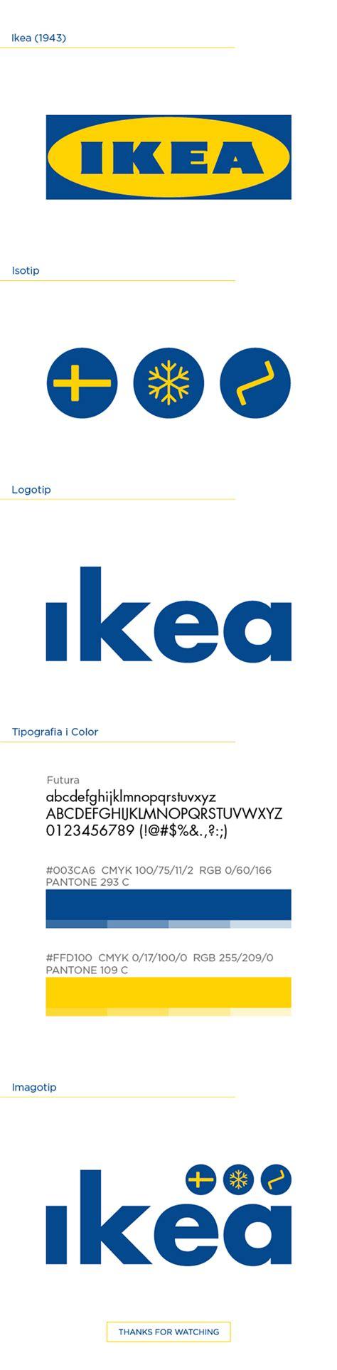 ikea logo redesign on behance ikea rebrand on behance