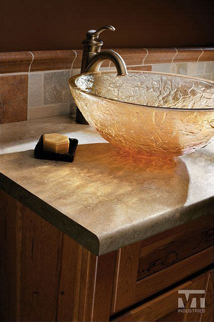 Countertops Vermont by Tempo Edge Vt Industries Travertine Laminate Formica