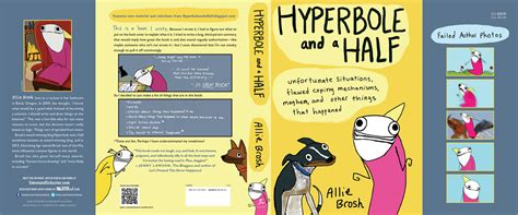 hyperbole picture books hyperbole and a half book by brosh official