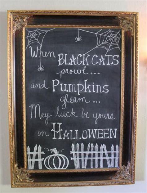 simplified  stylish halloween decorating ideas
