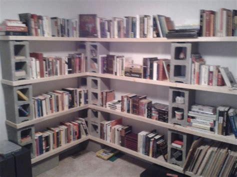 cinder blocks and 2x4s bookshelf shhhhh it s a