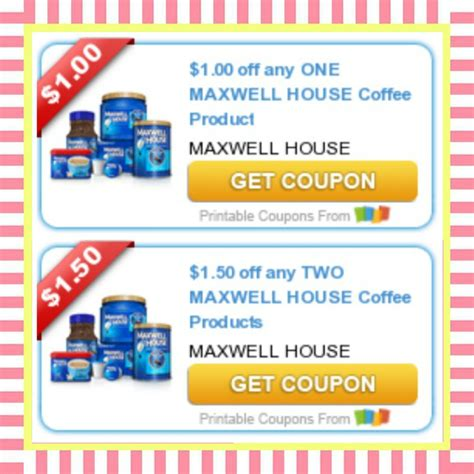 Printable Maxwell House Coupons | hot printable maxwell house coupons print now my