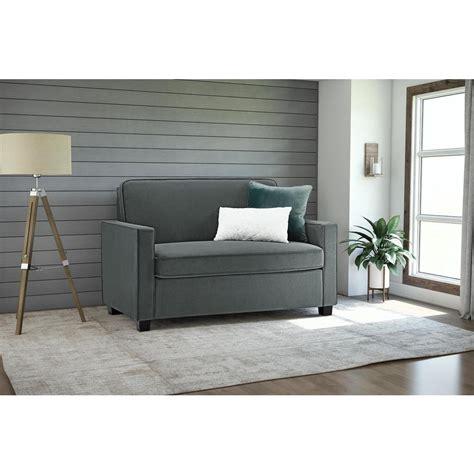 Grey Sleeper Sofa Casey Size Grey Velvet Sleeper Sofa 2153459 The Home Depot