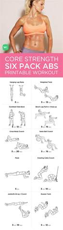six pack abs workout routine at home workout
