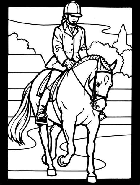 coloring pages of horses barrel racing barrel racing horse coloring pages