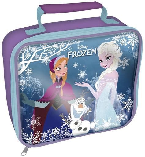 game design your frozen bag disney frozen school packed lunch bag carry storage box