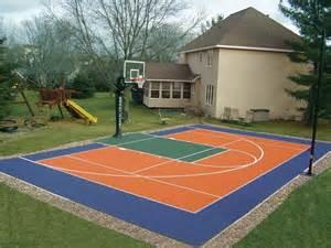 backyard sports courts backyard courts gallery sport court