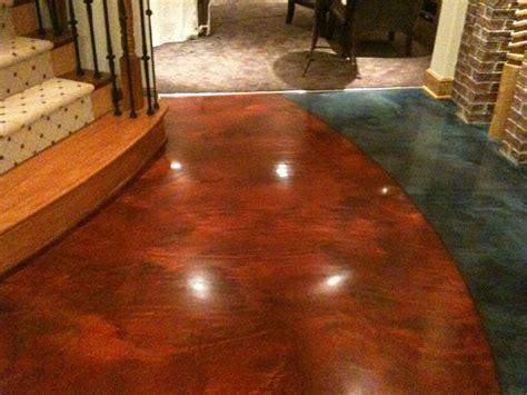 rochester mi custom decorative based flooring