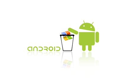 windows android android vs windows wallpaper 510963