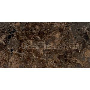 deko tile 12 x 24 polished emperador dark marble tiles