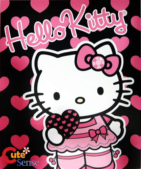 wallpaper hello kitty pink black hello kitty wallpaper pink and black wallpapersafari