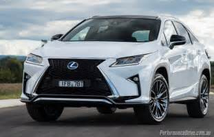 Lexus Jeep 2016 Lexus Rx 450h F Sport Review Performancedrive