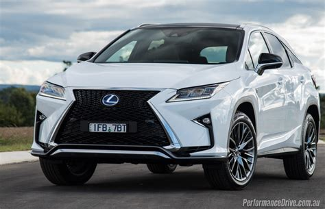 lexus rx 2016 white 2016 lexus rx 450h f sport review video performancedrive