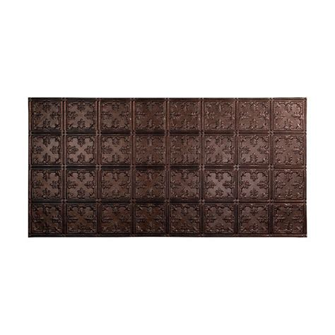 fasade traditional 1 2 ft x 2 ft lay in ceiling tile fasade traditional 10 2 ft x 4 ft glue up ceiling tile