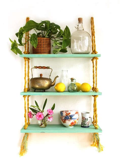 easy  stylish diy floating shelves wall shelves