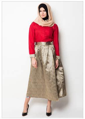 15 model baju atasan muslim modern anak muda terbaru 2017