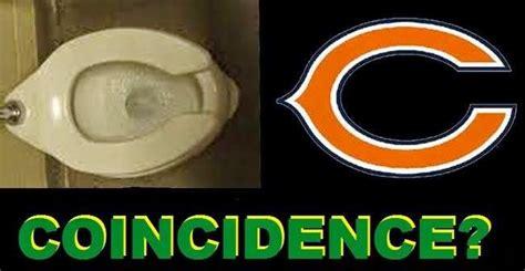 bears toilet seat coincidence 22 meme coincidence chicago bears logo