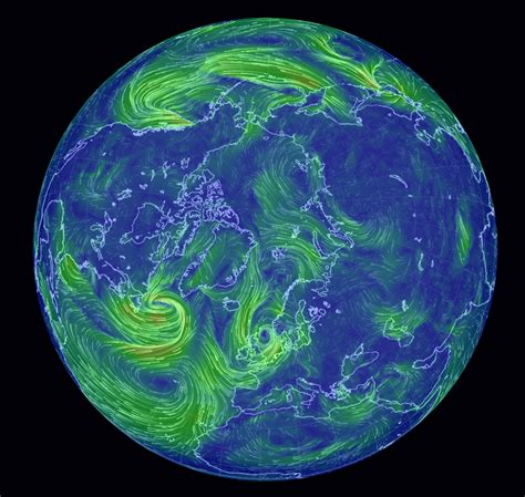 earth wind map earth wind patterns images