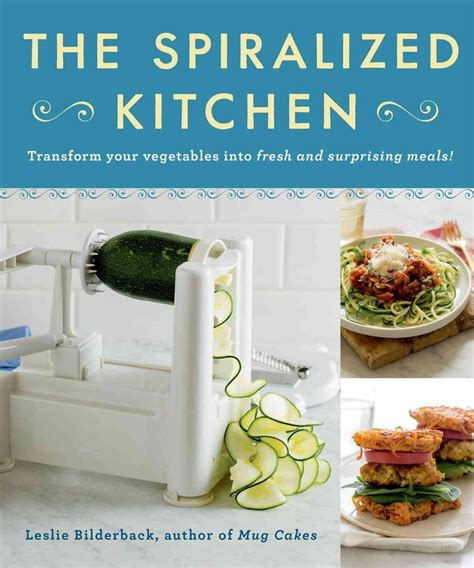 Pasta Boat Recipe Book by The Spiralized Kitchen Transform Your Vegetables Into