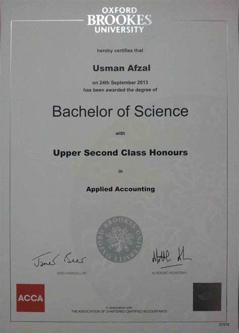 Oxford Brookes Mba Fees by Usman Afzal Teaches Finance Accounting Management