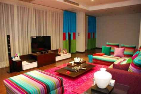 bunte gardinen farbgestaltung ideen f 252 r ihr zuhause sommer trends
