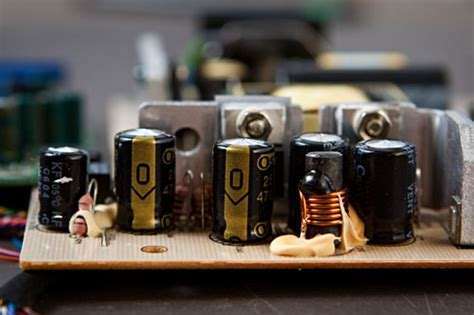 electrolytic capacitor bulging acer al1716 lcd capacitor replacement