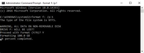 format hard disk from cmd how to erase a disk in windows 10 make a clean disk