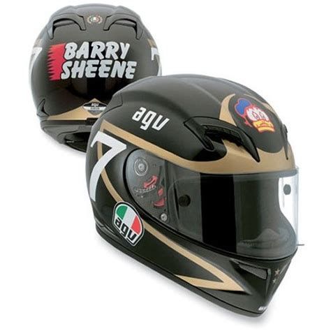 Helm Agv Replica 499 95 agv grid barry sheene replica helmet 145130