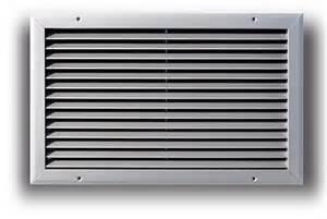 Baseboard Sizes A270 Al Aluminum Return Air Grille Truaire Com