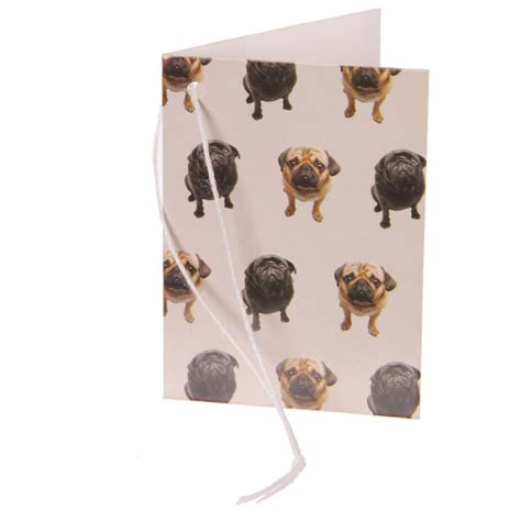 pug products gifts fawn black pug gift tag i pugs