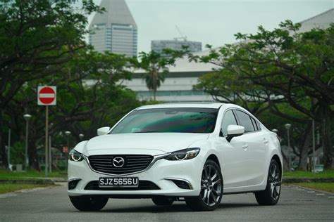 mazda big car mazda 6 my2018 car has big improvements
