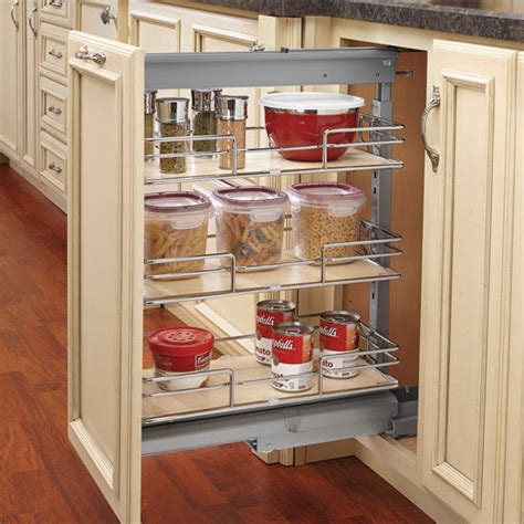 tall pull out kitchen cabinets rev a shelf pull out pantry with maple shelves for tall