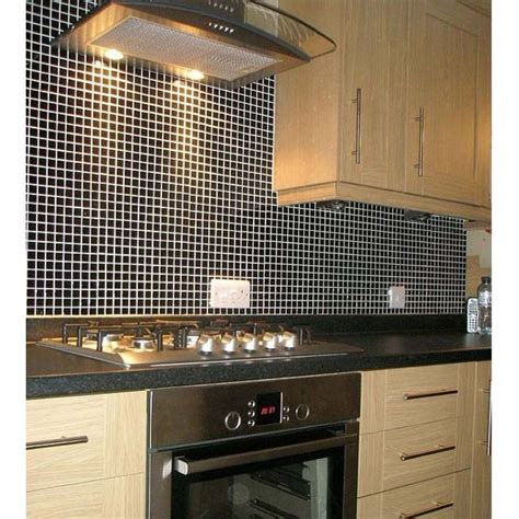 porcelain tile backsplash kitchen wholesale porcelain tile mosaic black square surface
